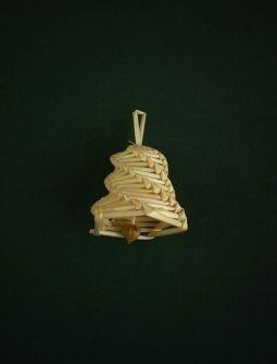 slamene-ozdoby-zvonek